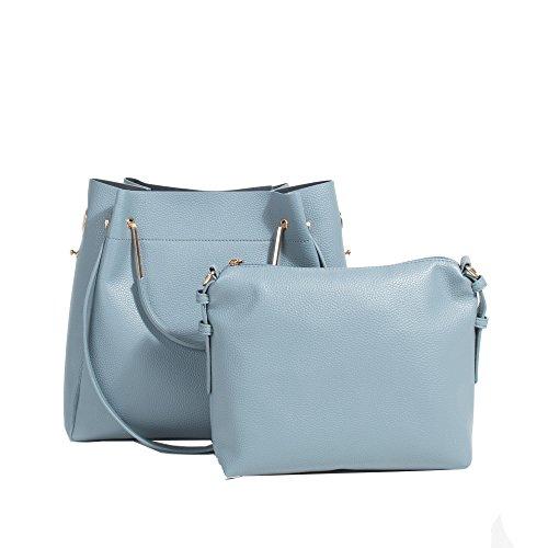 Parfois - Bolsos Basico Pu Shopper Coral - Mujeres Azul