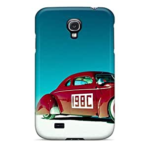 [sDK6474tgSG]premium Phone Case For Galaxy S4/ Old Cadillac Race Car Tpu Case Cover