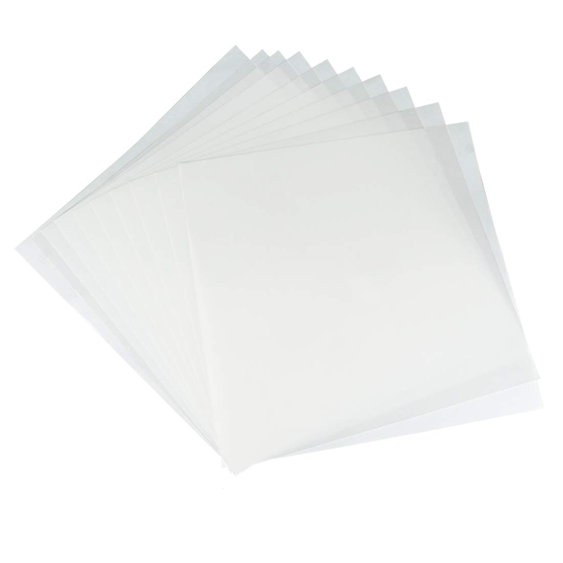 JINSEY Make Your Own Stencil - 10 Pack 6 Mil 12 x 12 inch Blank Stencil Sheets - Ideal Use Compatible Cricut & Silhouette Machines (Mylar Material) by JINSEY