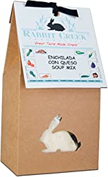 Rabbit Creek Products Enchilada Con Queso Soup Mix, 6.4 Ounce
