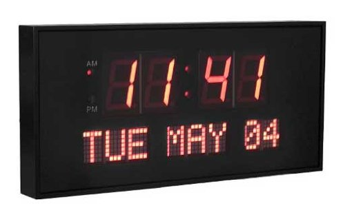 Active Living Oversized Digital LED Dynamic Wall Clock