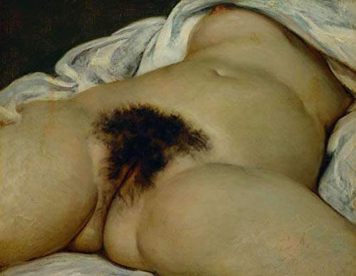 Aenx Gustave Courbet The Origin of The World 30