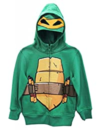 Teenage Mutant Ninja Turtles Michelangelo Boys Costume Zip Up Hoodie