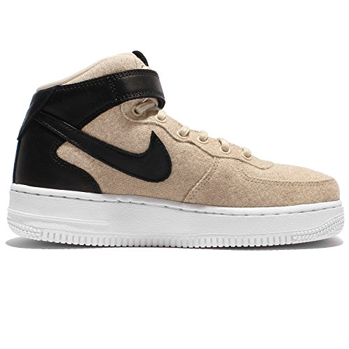 NIKE Frauen Air Force 1 Mid Lthr PRM Basketballschuh Grau