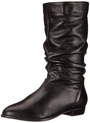 Women's Dune London 'Relissa' Scrunch Boot, Size 36 EU - Bla
