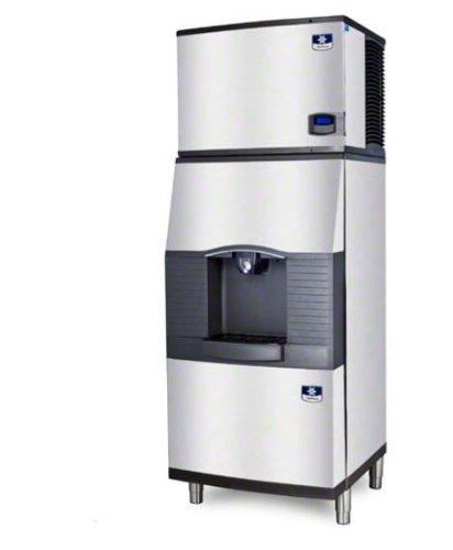 Manitowoc ID-0696N-SPA-310 612 Lb Remote-Cooled Full Cube Ice Machine w/ SPA-310 Hotel Dispenser