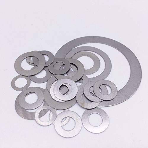 Ochoos 100Pcs Shim Washers Stainless Steel ID 3mm 4mm 5mm Flat Washer Ultrathin Gasket Thin Shim - (Inner Diameter: - Shim Inner