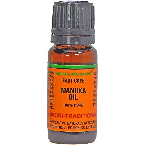Manuka Oil Pure East Cape Organically Grown by Naturals New Zealand (TM)