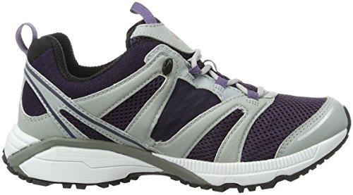 Jack Wolfskin Speed Liner Women, Zapatillas De Running para Asfalto para Mujer Gris (Prune)