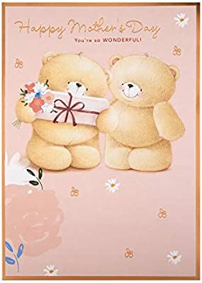 Mothers Day Card from Hallmark Large Forever Friends Design