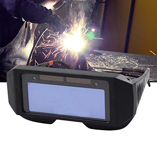 JUNERAIN Solar Auto Oscurecimiento Soldadura Casco Protector de Ojos Soldador Gorra Máscara de Gafas: Amazon.es: Hogar