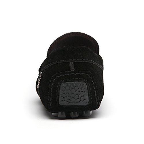 Größe 38 UK Schwarz Mokkasins Miyoopark XCR9912 Herren Schwarz 4xz0HnYwq