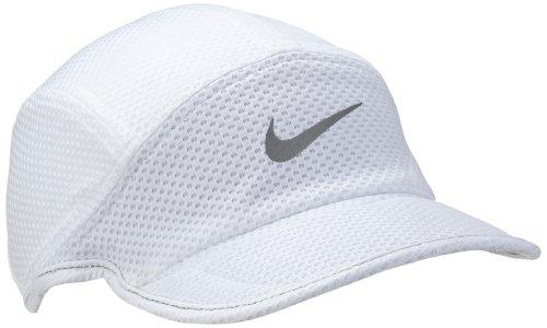 f4b8921374756 Unisex Nike Dri-Fit Mesh Daybreak Hat White   Reflective Silver 520787-100