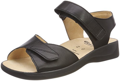 Monica Black Sandals Women's Ganter g Black Heels aAw7adq6