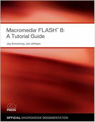 Flash pdf macromedia tutorials