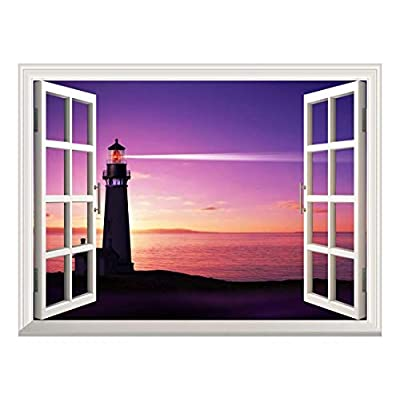 Removable Wall Sticker Wall Mural Beautiful Seascape of...36