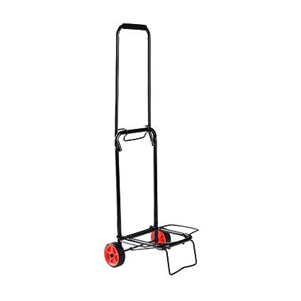 0946339e09e7 Amazon.com: ZHANYI Portable Hand Truck Folding Shopping Luggage Cart ...