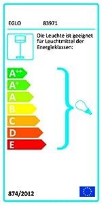 Schutzgrad IP 44 exklusive Leuchtmittel 60 W H/öhe 220 cm /Ø 60.0 cm 3 flammig HV 3 x E27 max in Edelstahl und wei/ßem satiniertem Glas Au/ßen Stehleuchte Modell SIDNEY Sockelplatte /Ø 20.0 cm