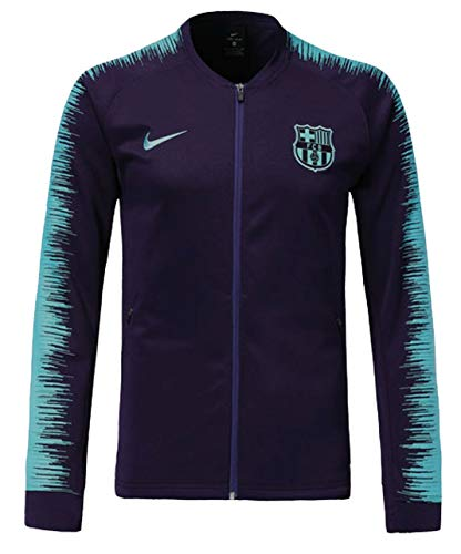 aa9cea7ce TrendsNow New Men s FC Barcelona Track Jacket Dark Blue (Medium)