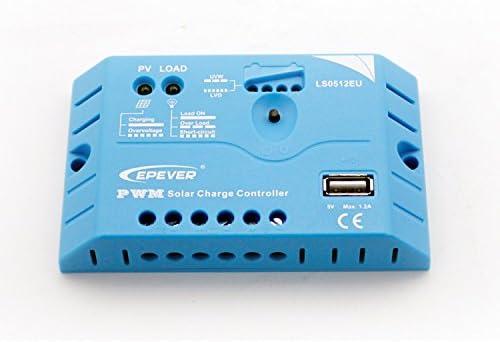 Epever Solar Laderegler EP-Solar LS0512EU 5A mit 5V USB Anschluss von EP Solar