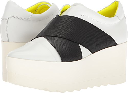 KENDALL + KYLIE Women's Tasha 3 White/Black 5.5 M - And Kendall And Kylie Black White