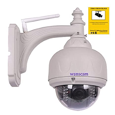 IP CAMARA WIFI VIDEO VIGILANCIA WANSCAM EXTERIOR MOTORIZADA CAMERA HW0038 h.264: Amazon.es: Electrónica