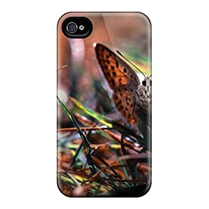 Iphone 6 Cases Covers Skin : Premium High Quality Butterfly In The Grass Cases