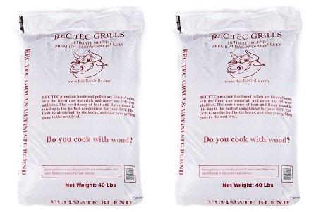 RecTec Grills Ultimate Blend Pellets, 40 lb (2-Pack)