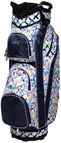 Glove It Women's Golf Bag Ladies 14 Way Golf Carry Bag - Golf Cart Bags for Women - Womens Lightweight Golf Travel Case - Easy Lift Handle - 2019 Pastel Lattice