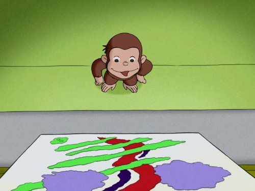 Curious George Colour - Color Me Monkey/Special Delivery Monkey