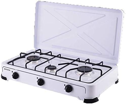 Brock Electronics GS-003-W Hornillo de gas, 20 kg, 0 ...
