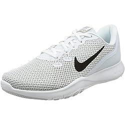 Nike Women's Flex TR 7 Training Shoe White/Metallic Silver-Pure Platinum 6