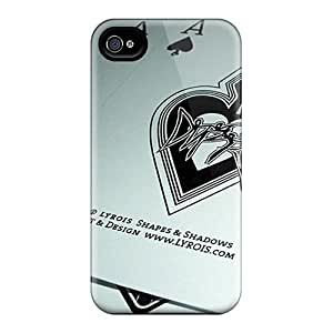 New Shockproof Protection Cases Covers For Iphone 4/4s/ Ace Of Spades Cases Covers