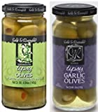Sable & Rosenfeld Tipsy Olives 4.94 oz & Vodka Garlic Tipsy Olives 5 oz (Pack of 2)