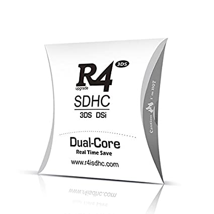 R4I R4 (( 2017 )) SDHC DUAL CORE WITH (8GB) SD WITH FIRMWARE