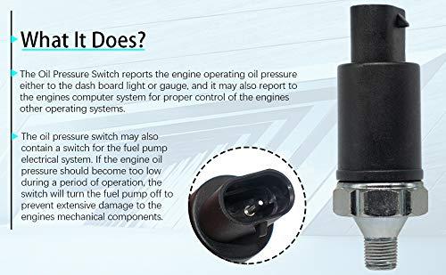 56026779 Oil Pressure Sensor Sender Switch for Dodge Viper Jeep Grand Cherokee Wrangler PS257T,56026779AB
