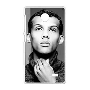 Imperturbable handsome man Cell Phone Case for Nokia Lumia X