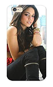 Hot Tpu Cover Case For Iphone/ 6 Case Cover Skin Design - Model Brunee Siing Smile Vanessa Anne Hudgens