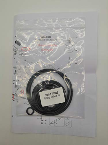 (New O-ring Replacement Rebuild Kit For Bostitch WM45B Coil Roofing Nailer)
