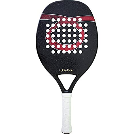 Pala de Tenis Playa Tom Caruso LEGEND 2018: Amazon.es ...