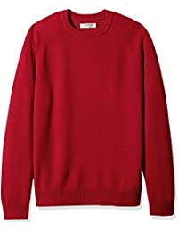 Men's Lambswool Crewneck Sweater