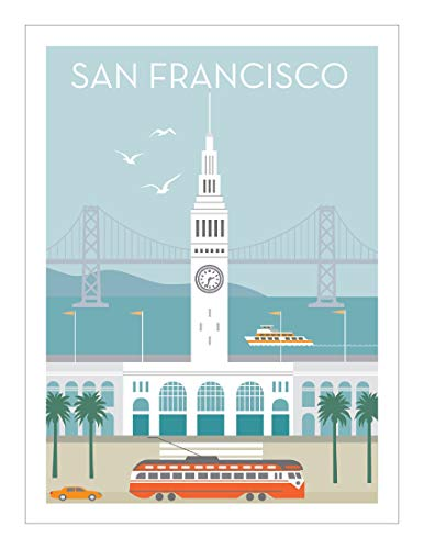 - San Francisco Poster: Ferry Building