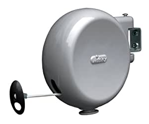 Minky Retractable Reel Outdoor Dryer, 49-Feet Line Drying Space