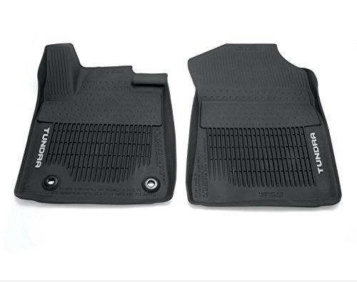 Genuine Toyota Tundra All-Weather Floor Liners PT908-34162-02. 3 Piece Set. 2016 Tundra Crew Max. - 2 Piece All Weather Floor