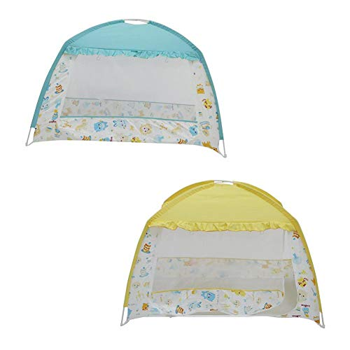 Baby Crib Safety Net Premium Baby Bed Canopy Netting Cover Pop-up Mosquito Net Play Tent Kids