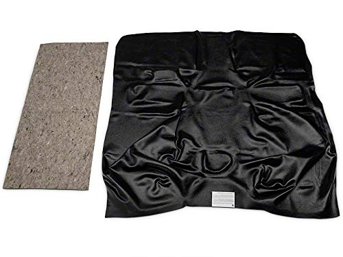 Truck Standard Cab Carpet - ACC Part Compatible with Chevrolet Standard Cab Pickup Truck Vinyl Flooring  Black Custom Molded Carpet Replacement Kit Fits 1989-1998