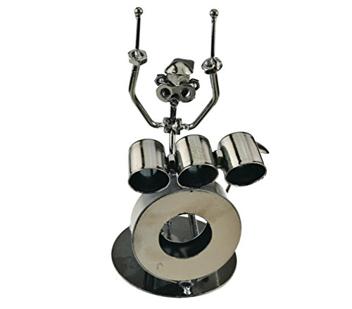 Classical Jazz Drum Set Model Musical Educational Toy Home Decoration Gift(Q018)