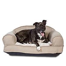 GeoBlend Pet Sofa Bed, Large, Khaki Brown