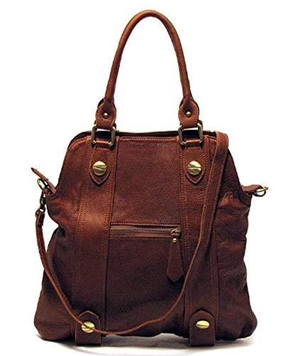 Floto Bolotana Bag in Italian Nappa Leather - Brown