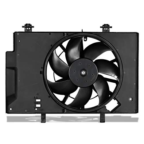 Radiator Condenser Cooling Fan Assembly For 2011-2017 Ford Fiesta 1.6L L4 (Radiator Condenser Fan)